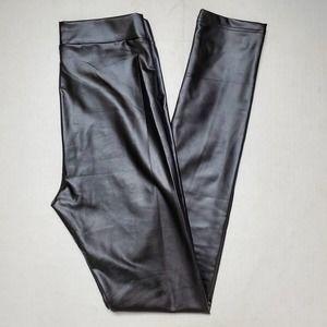 NWT Lulus Pleather Hi-Rise Leggings SZ Medium